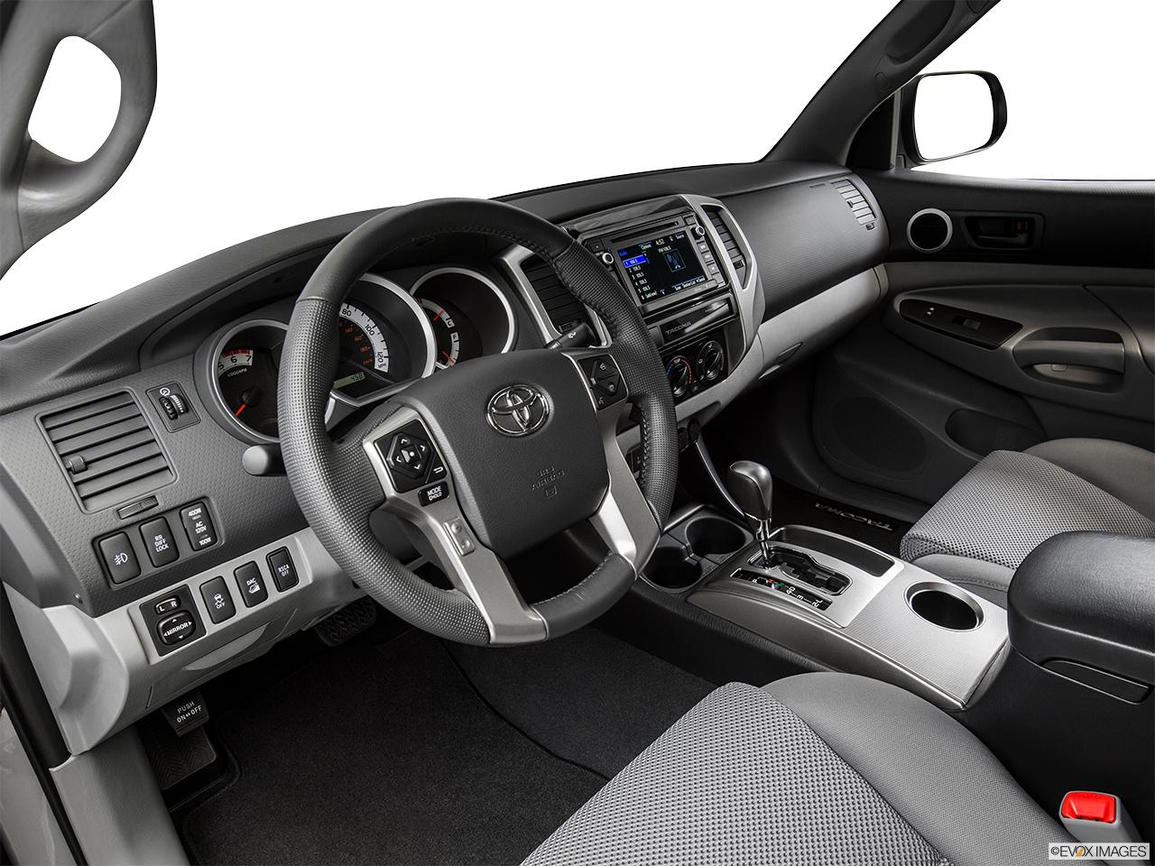 2015 Toyota Tacoma 4WD Double Cab V6 AT   Interior Hero (driveru0027s Side)