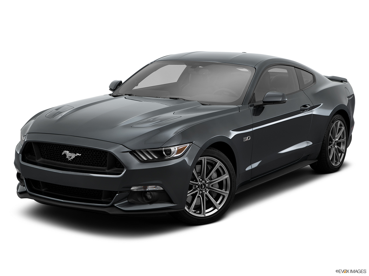 2015 ford mustang 2dr convertible gt premium front angle medium view