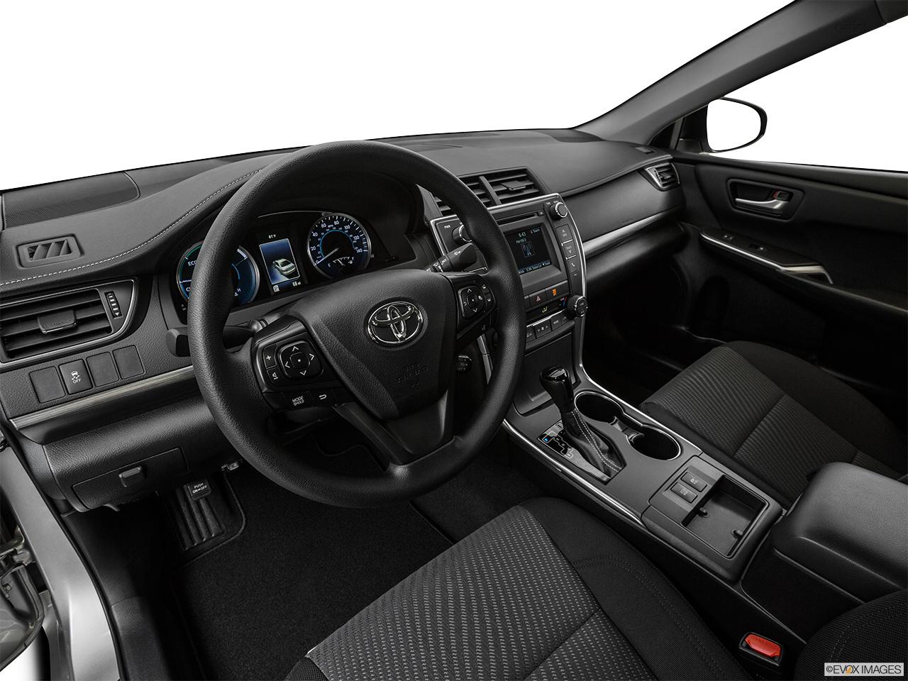 2015 Toyota Camry Hybrid LE (SE) Sedan   Interior Hero (driveru0027s Side)