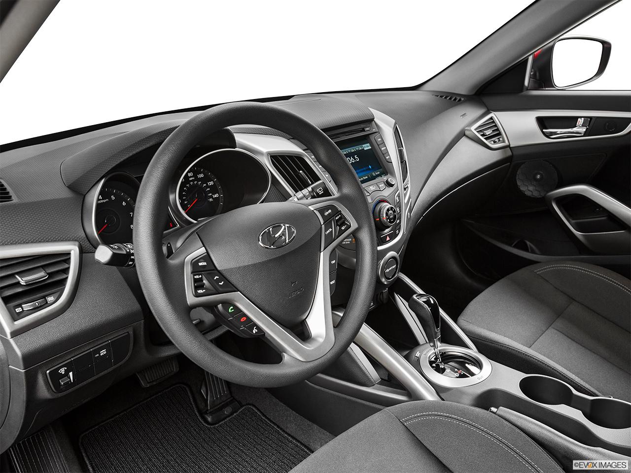 Custom car interior queens ny - 2015 Hyundai Veloster 3dr Manual Coupe Interior Hero Driver S Side