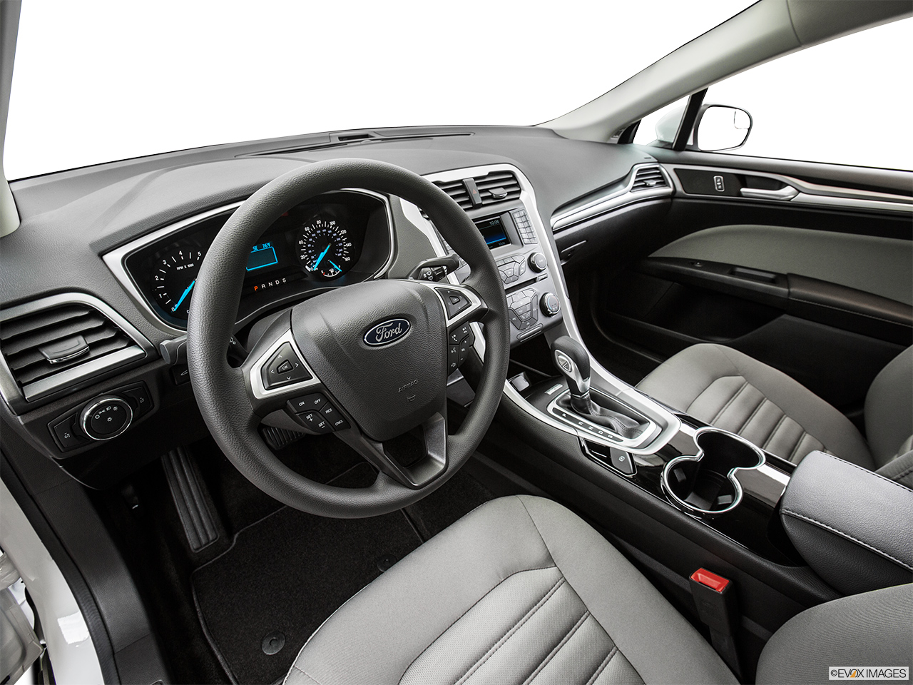 2015 Ford Fusion 4dr Sedan S Hybrid FWD   Interior Hero (driveru0027s Side)