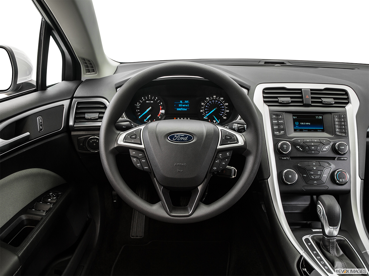 blue ford wallpaper fusion