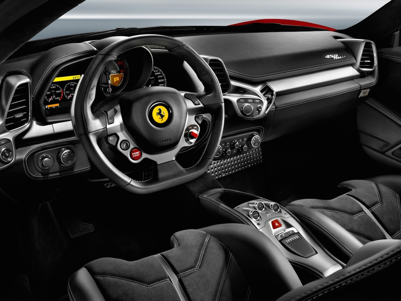 2013 ferrari 458 italia coupe carnow 2013 ferrari 458 italia coupe front seats from drivers side vanachro Choice Image