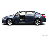 2015 Toyota Corolla 4dr Sedan CVT LE Plus - Driver's side profile with drivers side door open