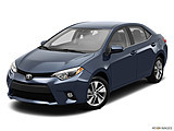 2015 Toyota Corolla 4dr Sedan CVT LE Plus - Front angle view