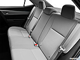 2015 Toyota Corolla 4dr Sedan CVT LE Plus - Rear seats from Drivers Side