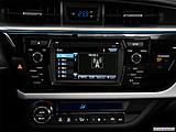 2015 Toyota Corolla 4dr Sedan CVT LE Plus - Closeup of radio head unit