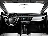 2015 Toyota Corolla 4dr Sedan CVT LE Plus - Centered wide dash shot