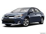2015 Toyota Corolla 4dr Sedan CVT LE Plus - Front angle medium view