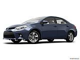 2015 Toyota Corolla 4dr Sedan CVT LE Plus - Low/wide front 5/8