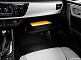 2015 Toyota Corolla 4dr Sedan CVT LE Plus - Glove box open