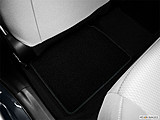 2015 Toyota Corolla 4dr Sedan CVT LE Plus - Rear driver's side floor mat., Mid-seat level from outside looking in