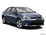 2015 Toyota Corolla 4dr Sedan CVT LE Plus - Front passenger 3/4 w/ wheels turned