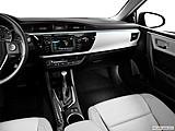 2015 Toyota Corolla 4dr Sedan CVT LE Plus - Center Console/Passenger Side