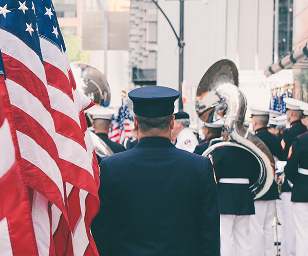 Support for Veterans and Military Members on Veterans Day Header Image