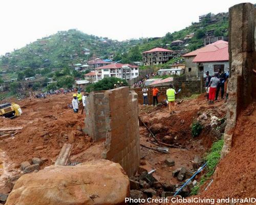 Mudslides in Sierra Leone Header Image