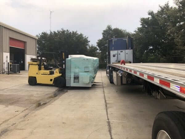 Shipping CNC Machines