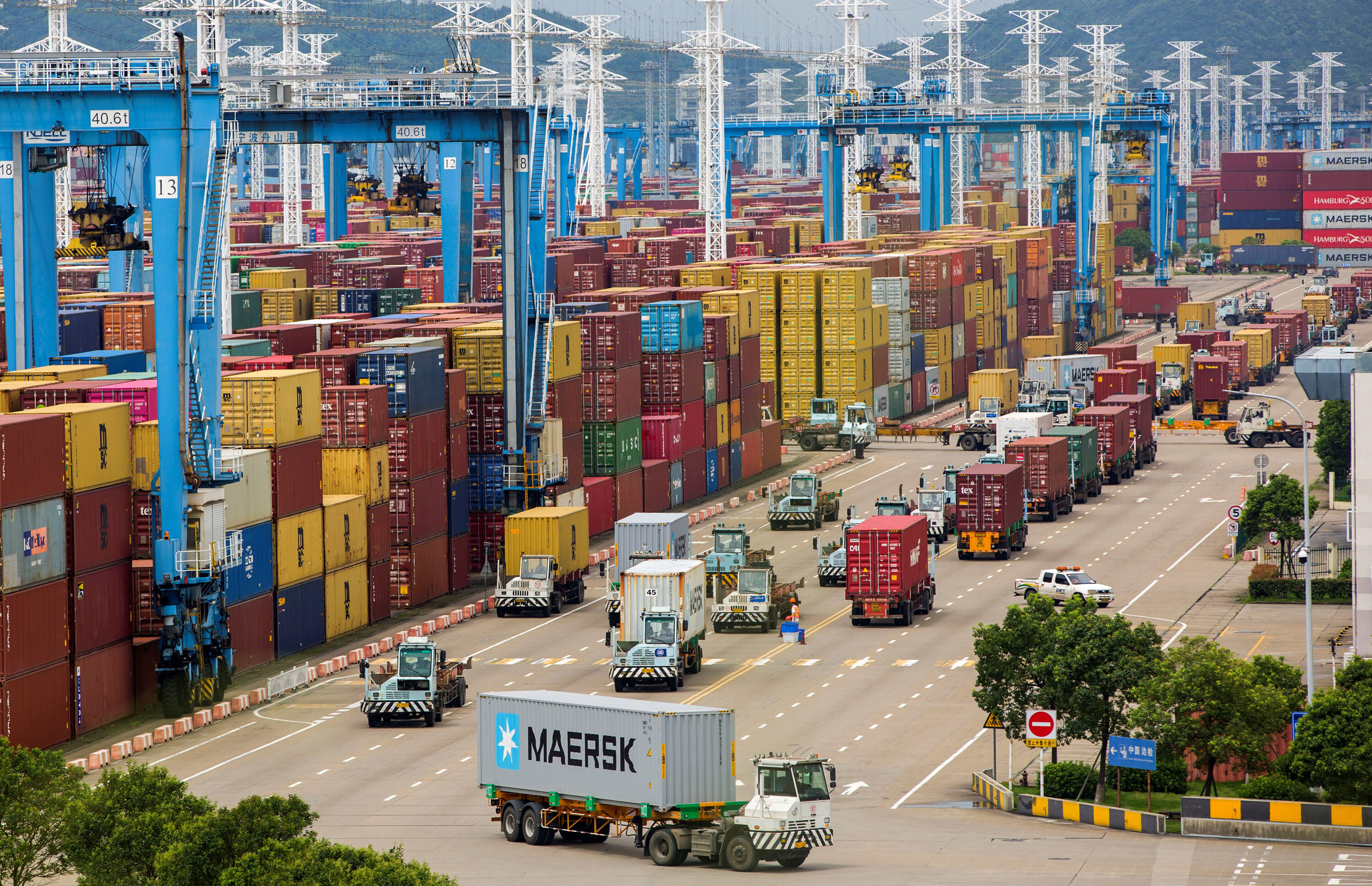 The world's third busiest container port is back but the shipping crisis isn't over yet
