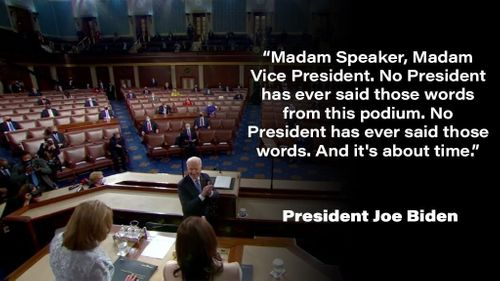 Image for 5 takeaways from President Biden's first address to Congress