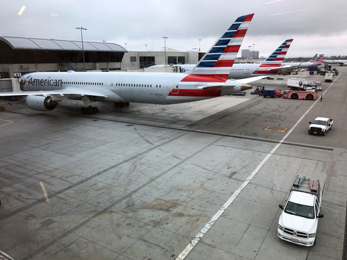 Image for American Airlines suspends two routes to China as coronavirus spreads