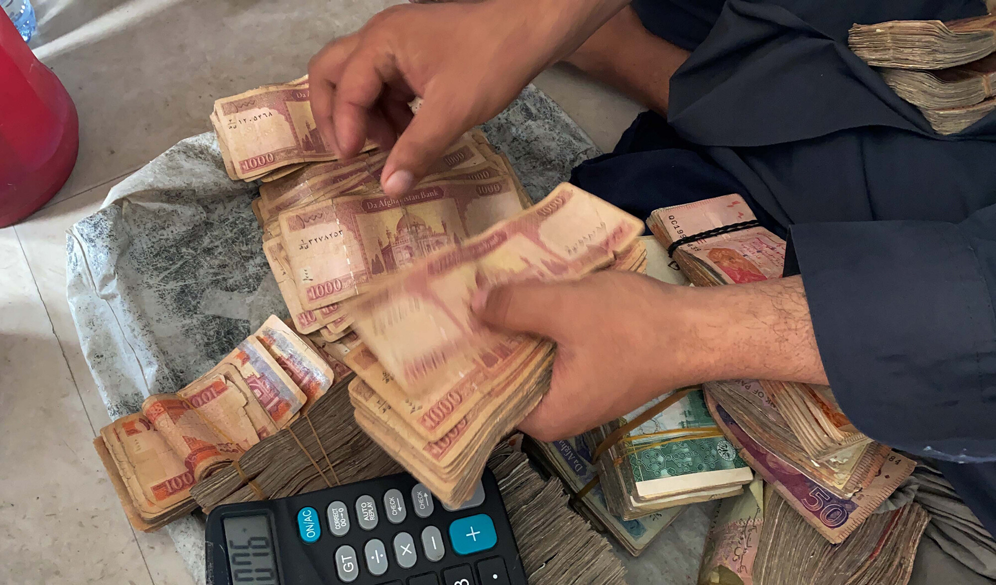Afghanistan's currency crumbles to record lows