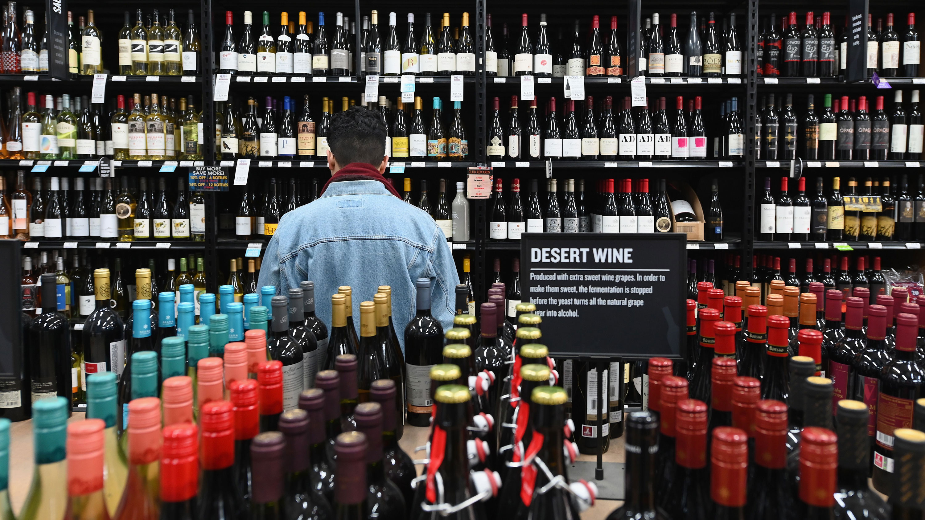 Booze sales are booming as people stockpile alcohol … but it may not last