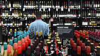 Booze sales are booming as people stockpile alcohol ... but it may not last