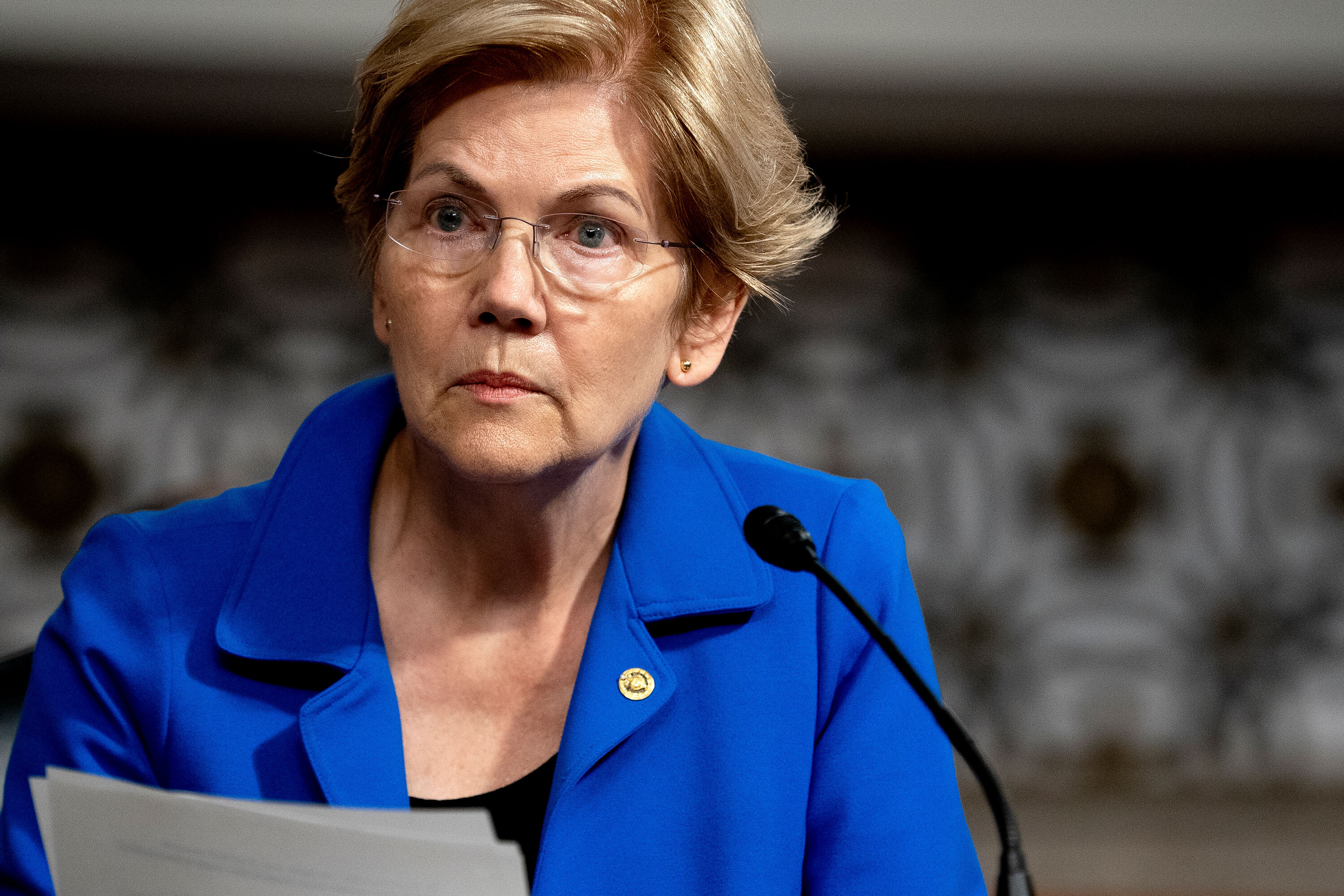 Elizabeth Warren says Amazon is 'like a monster' that must be fed every minute