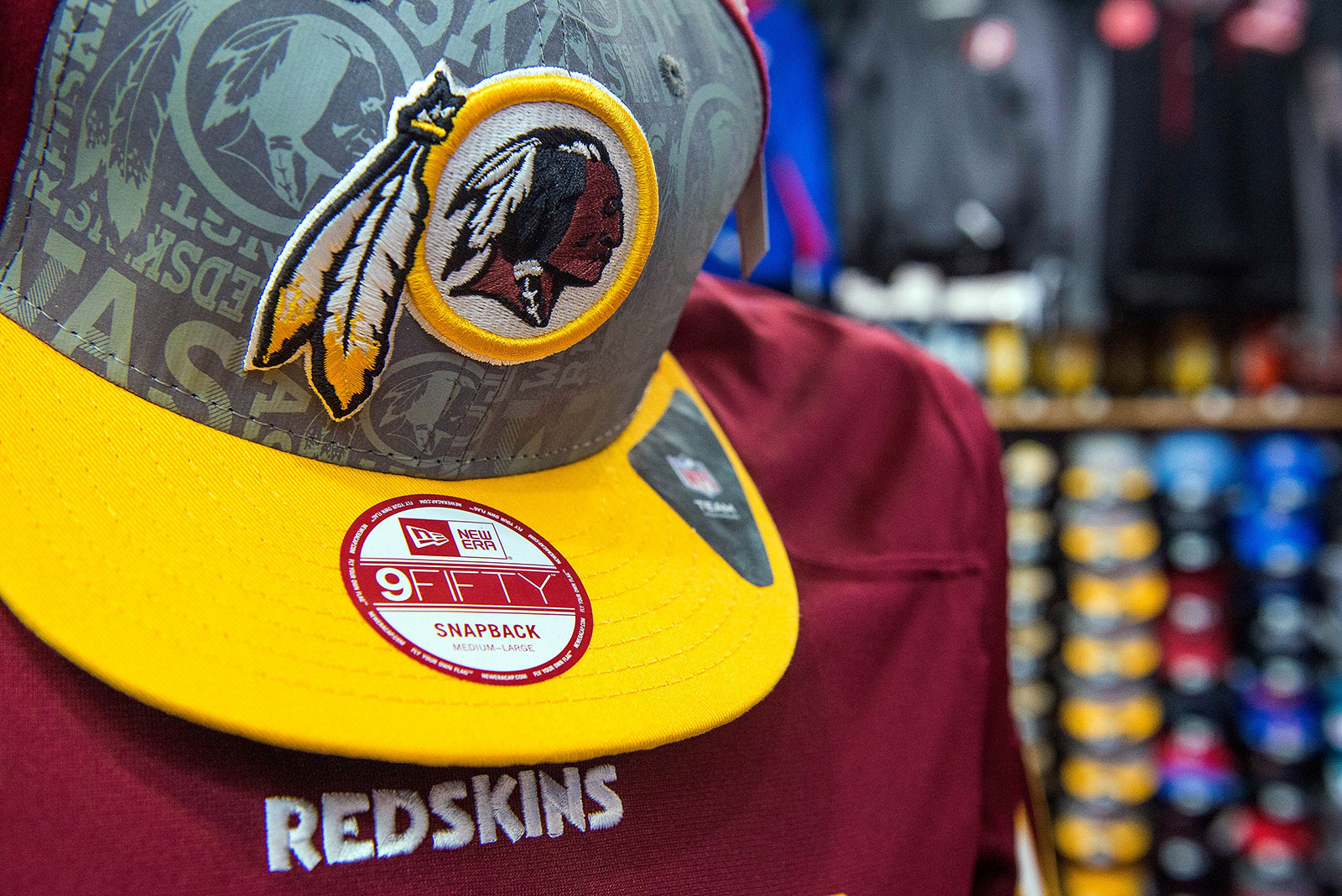 Amazon pulls Washington Redskins merchandise from site as calls to change team name escalate