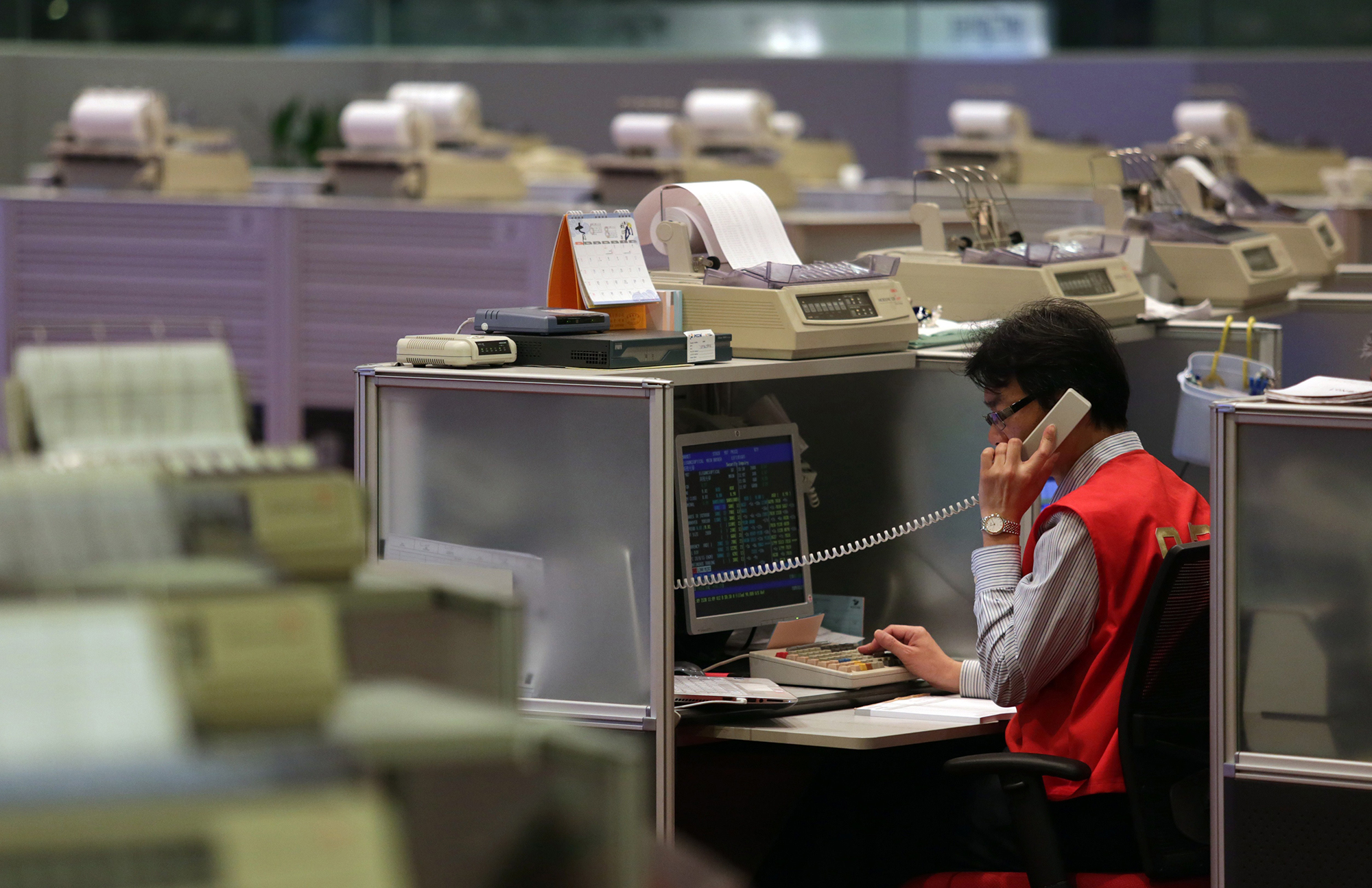 Asian stocks quiet on Lunar New Year's eve after a turbulent week