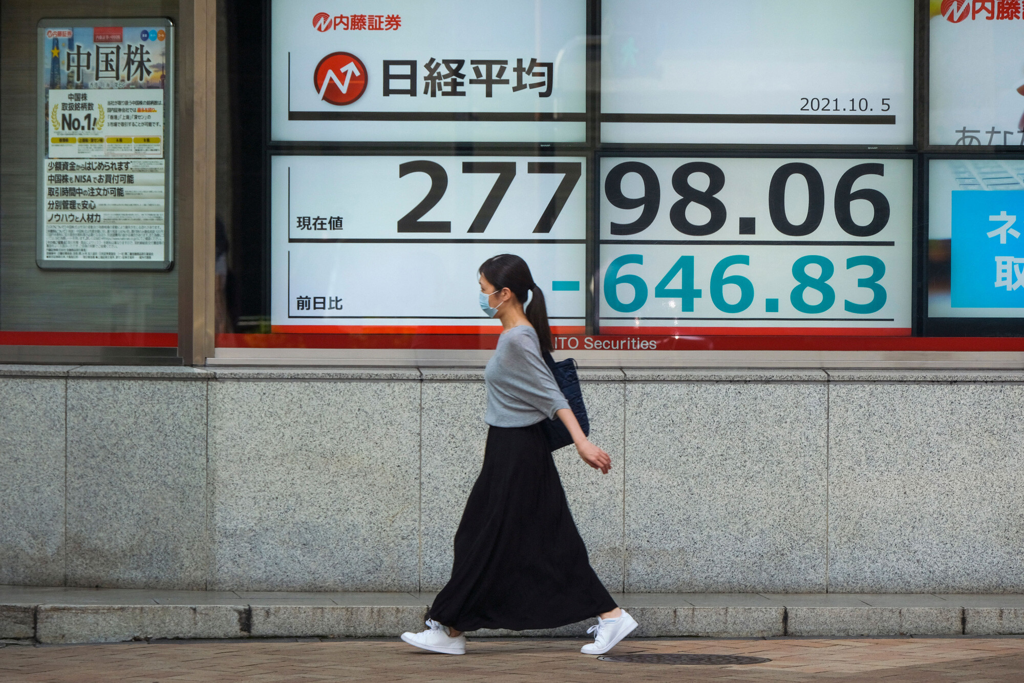 Global stocks steady after Wall Street drop unsettles Asia