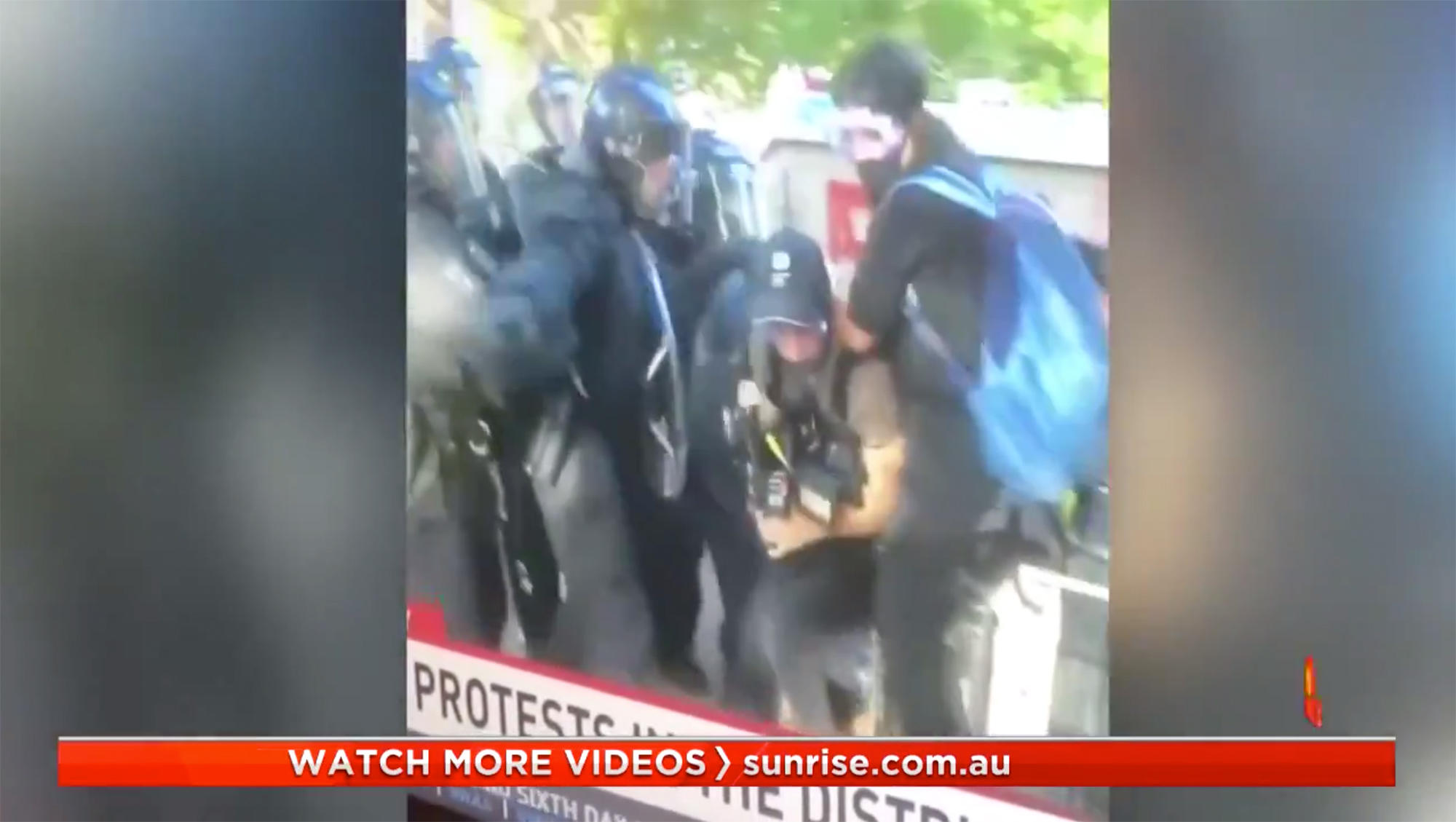 Australia will investigate attack on journalists by police in Washington