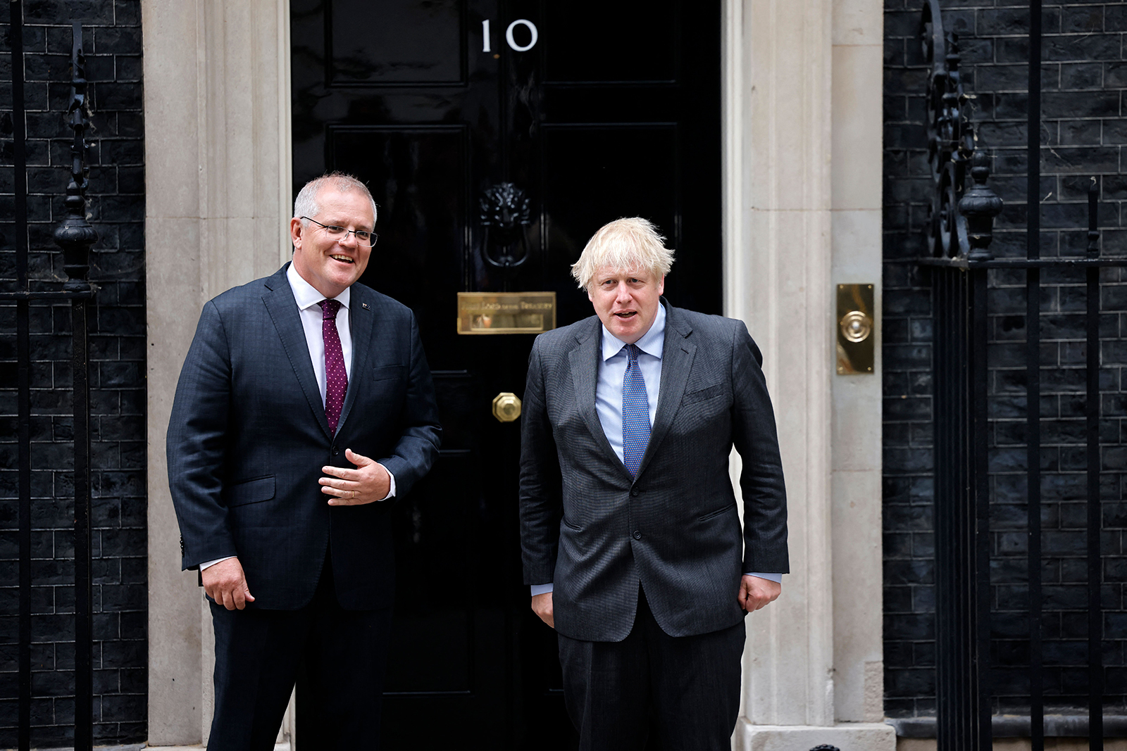 Australia and the United Kingdom announce post-Brexit trade deal