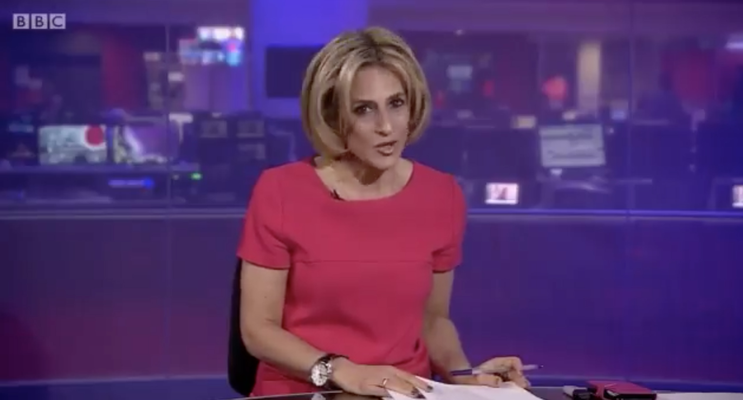 BBC host slams UK politicians for suggesting 'fighters' can survive Covid-19