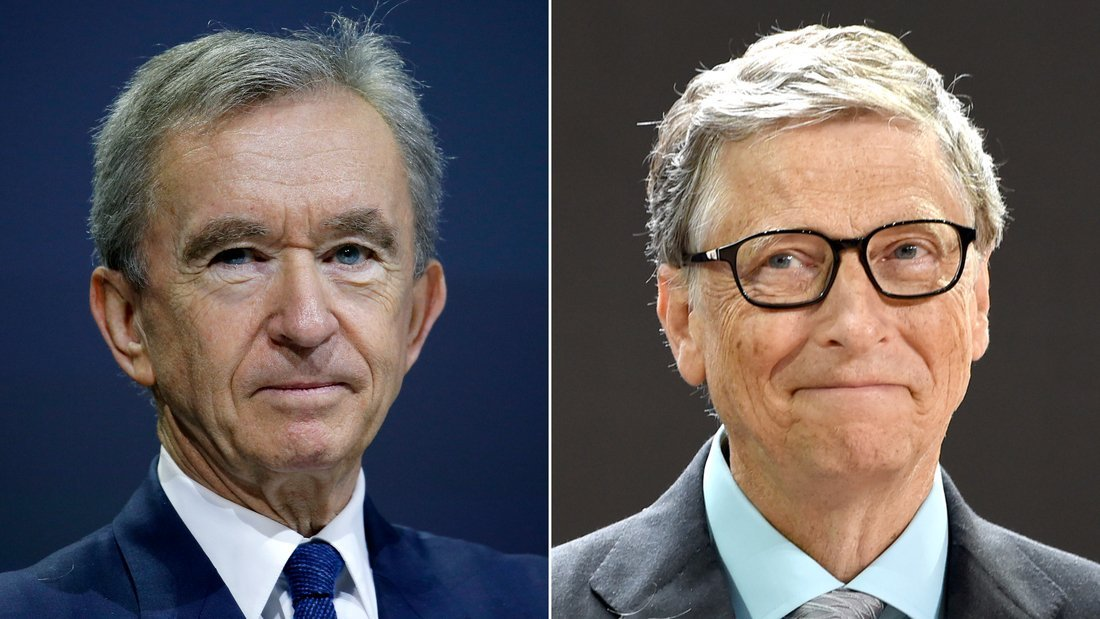 LVMH boss Bernard Arnault overtakes Bill Gates as world's second-richest person