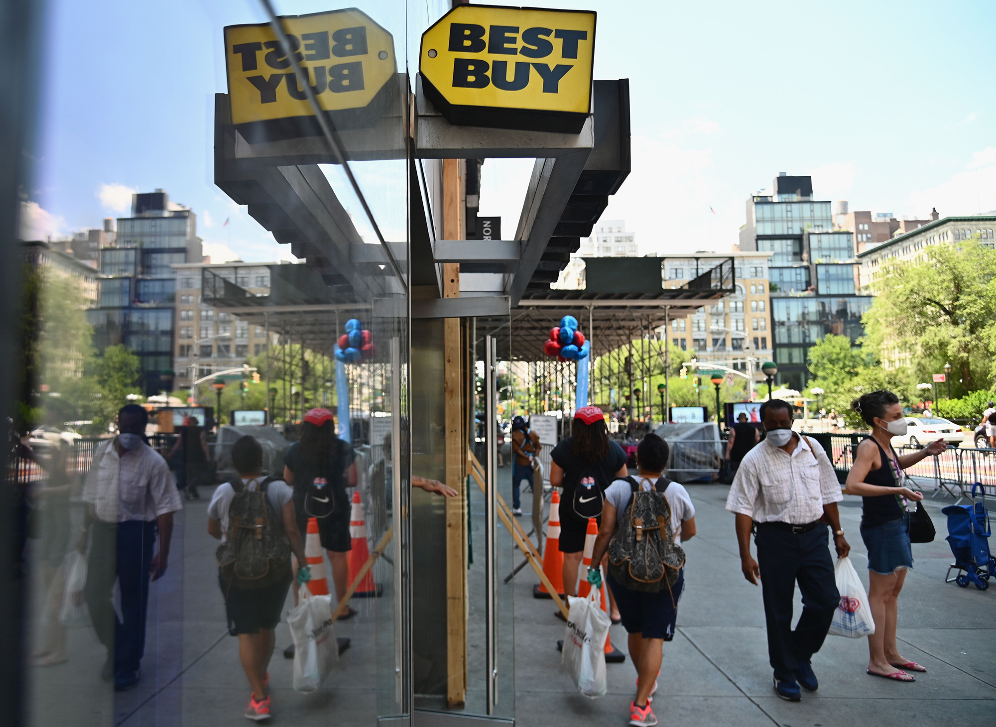 Best Buy wants to sell you luggage and outdoor grills