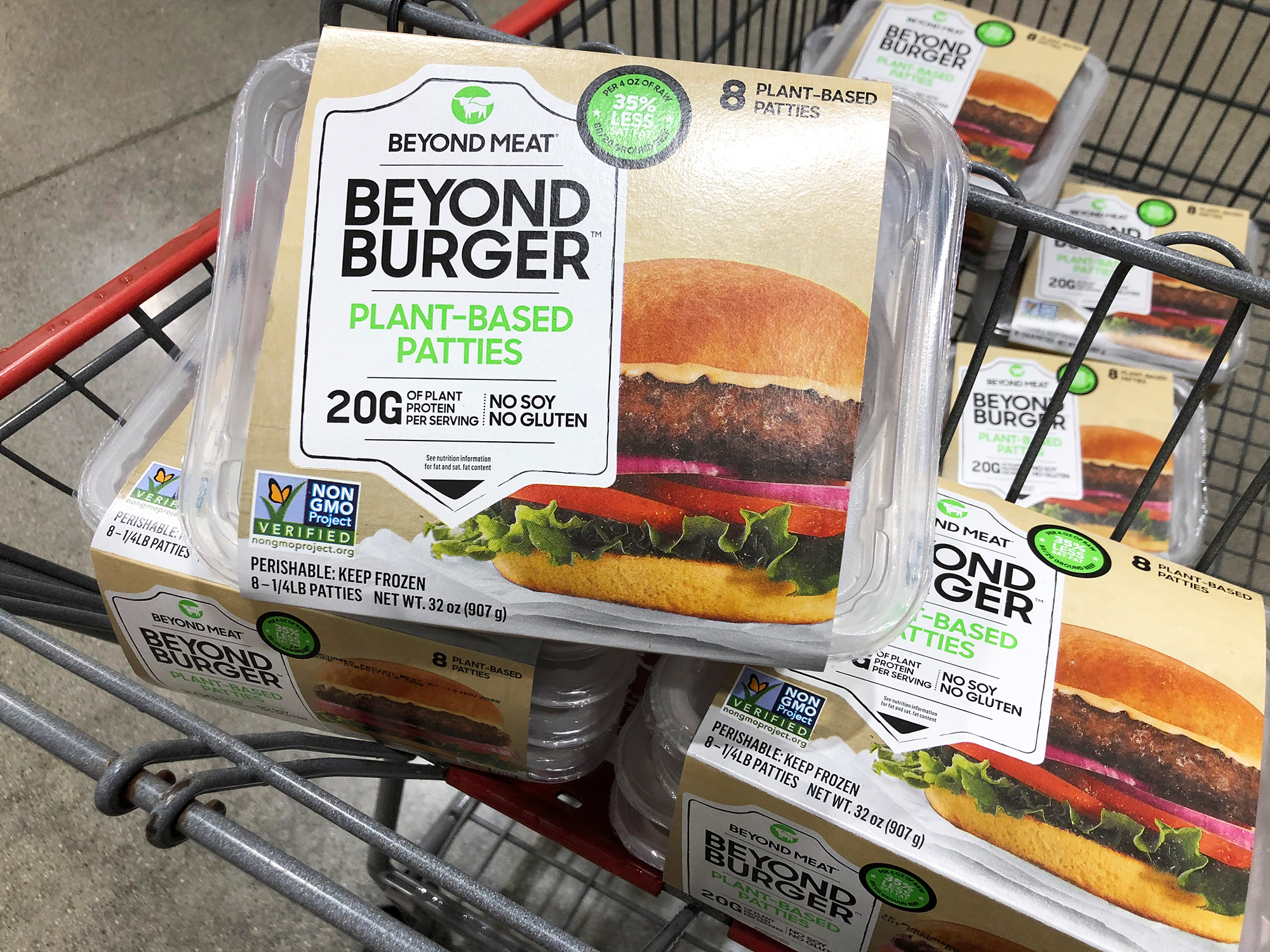 Beyond Burgers are coming to Costco