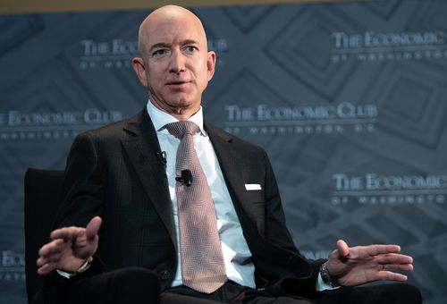 Image for Jeff Bezos endorsed higher corporate tax rates. But it won't cost him much