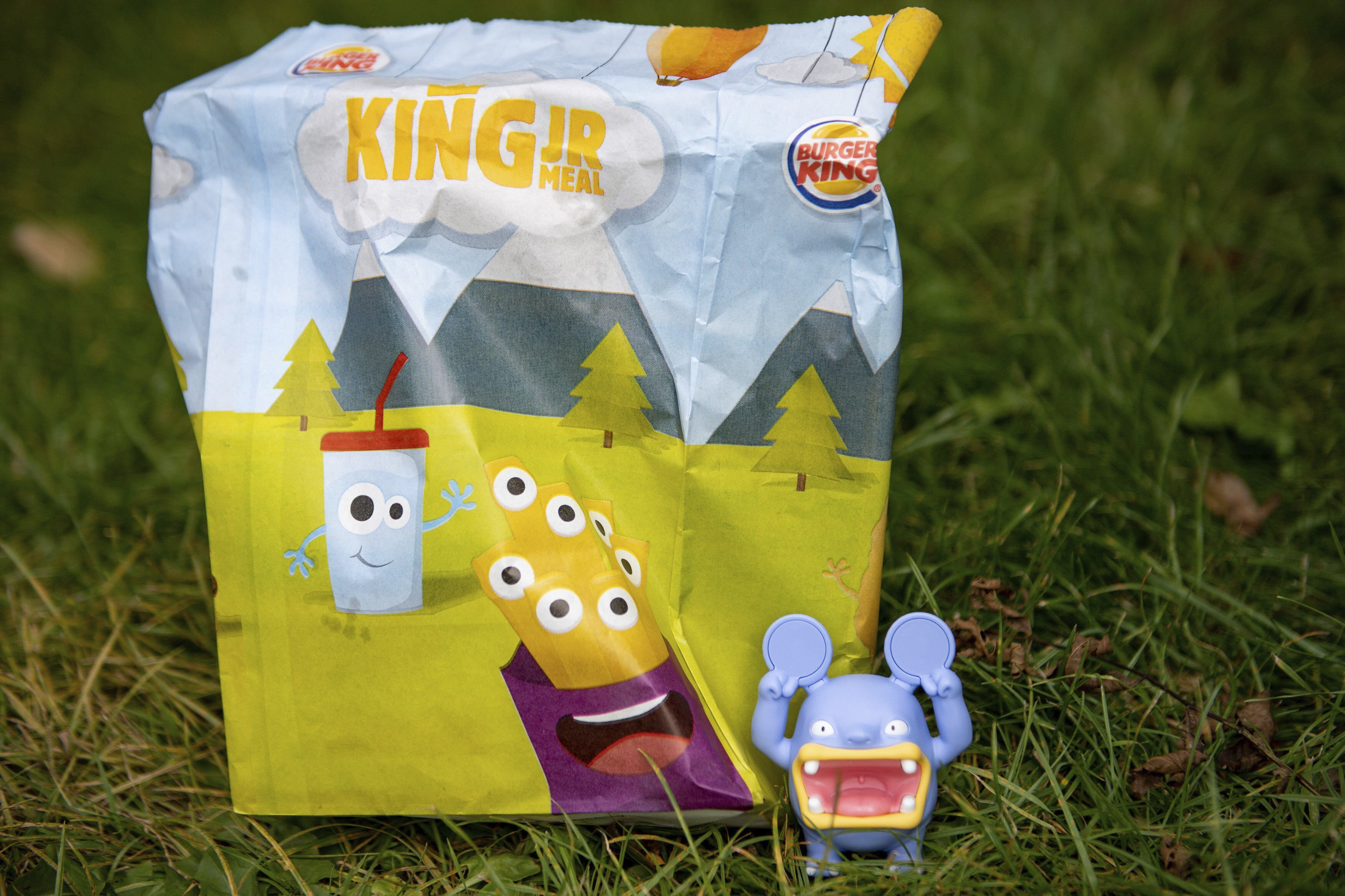 Burger King ditches plastic toys in UK kids' meals
