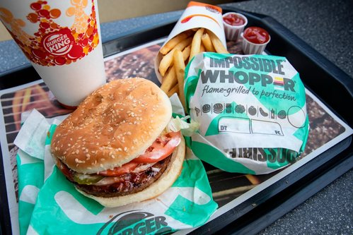 Image for Burger King launches meatless burger across Europe and tests new US options