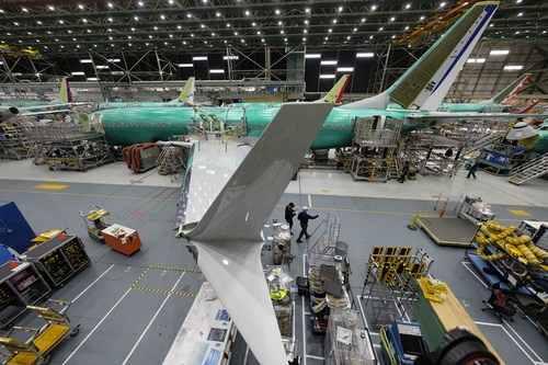 Image for Boeing has temporarily stopped making 737 Max airplanes