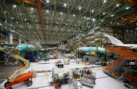 Boeing is temporarily halting all commercial airplane production in the US because of coronavirus