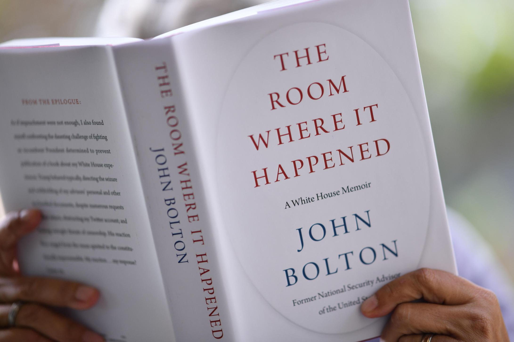 John Bolton's memoir has sold a staggering 780,000 copies in its first week on sale