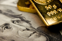 Gold at a seven-year high and bond yields flirt with record lows as fear grips Wall Street