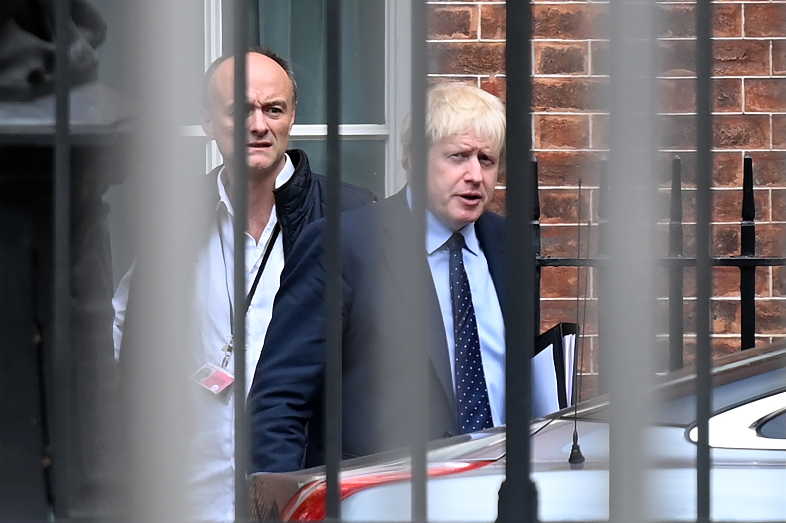 Boris Johnson draws media fire from all sides after top aide accused of lockdown breach