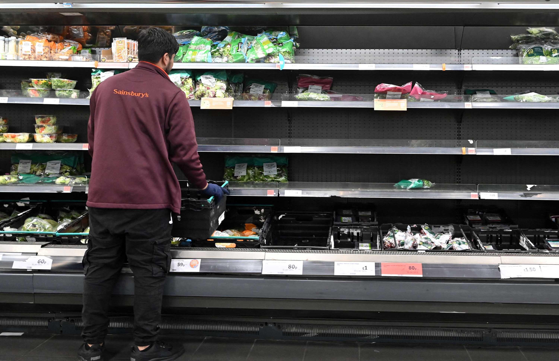 Britain delays Brexit border checks as food industry warns of permanent shortages