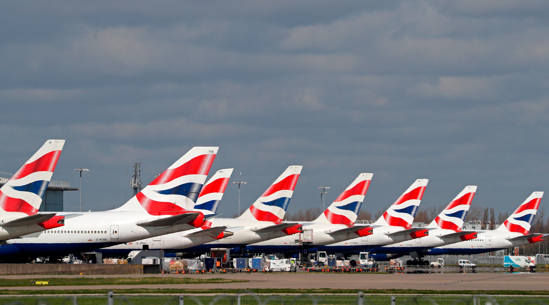 British Airways furloughs 30,000 workers