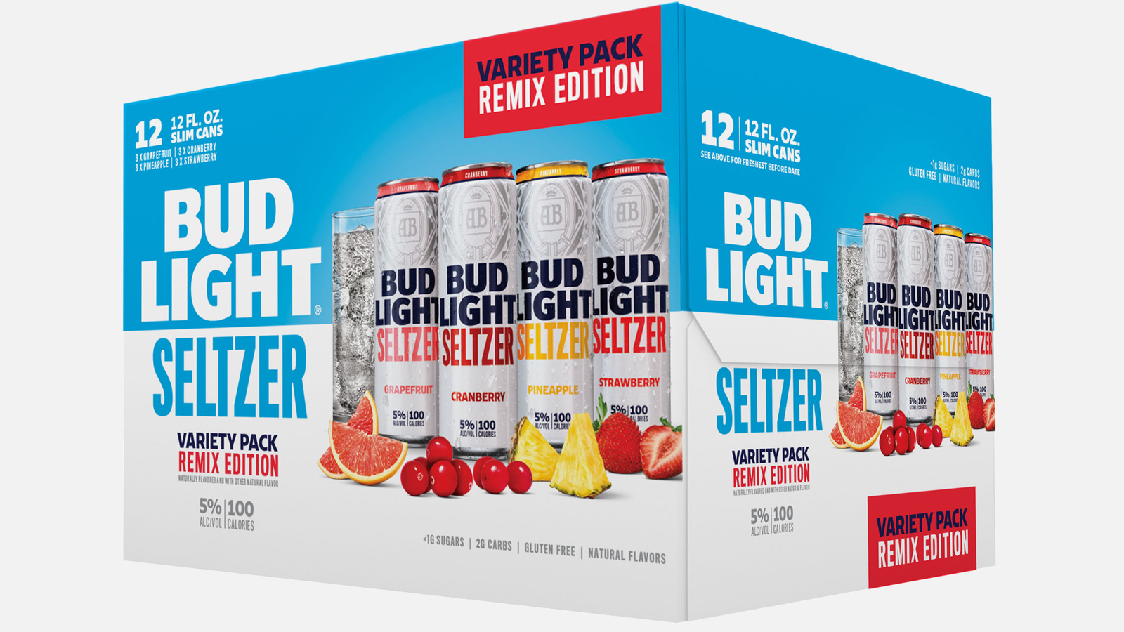 Bud Light just launched three new hard seltzer flavors