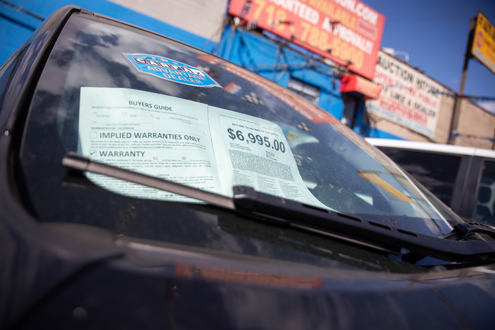 Car prices are soaring, and they're not going to stop