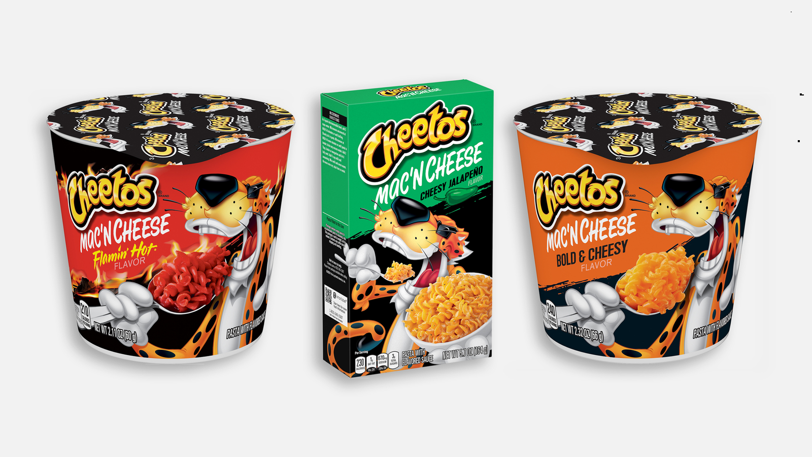 PepsiCo's new Mac & Cheese product is made with Cheetos